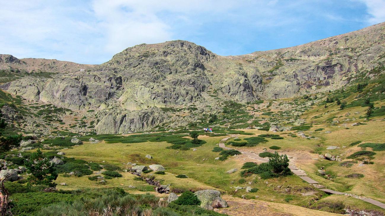 Enclave del Parque Natural de Peñalara, en el Parque Nacional de la Sierra de Guadarrama