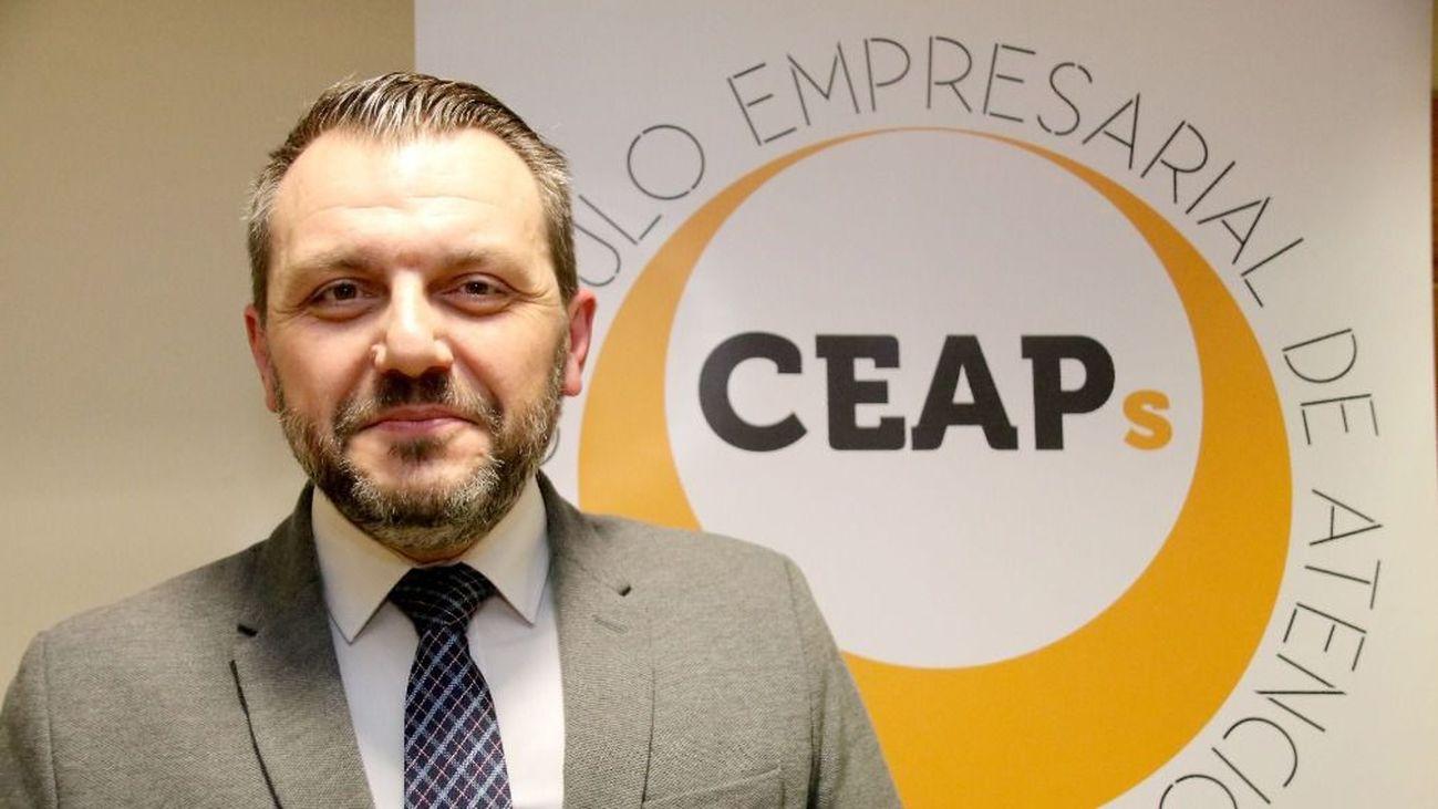 José María Toro, vicepresidente de Ceaps, la patronal de residencias