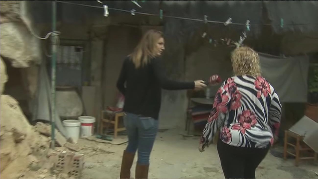 Pide ayuda para reparar su casa-cueva con peligro de derrumbe en Fuentidueña de Tajo