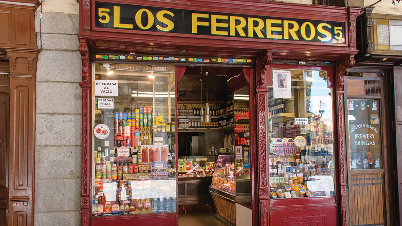 Negocios centenarios: Ultramarinos Los Ferreros