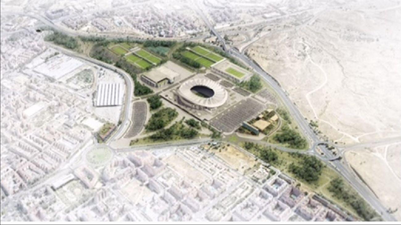 Entorno del estadio Wanda Metropolitano