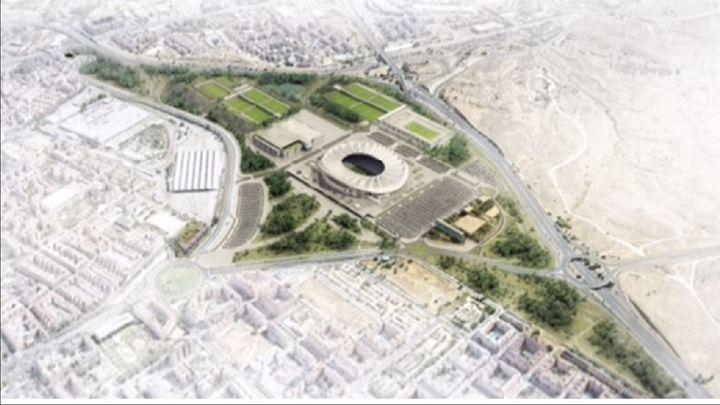 Así será el entorno del Metropolitano, un pulmón verde y una ciudad del deporte