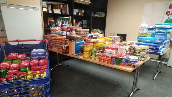 Vecinos de Getafe donan más de 600 kilos de alimentos en dos semanas