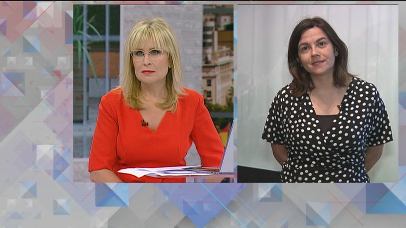 """Cristina Alonso, geriatra:  """"La estrategia de Madrid en residencias fue reorganizar el tratamiento de las personas"""""""