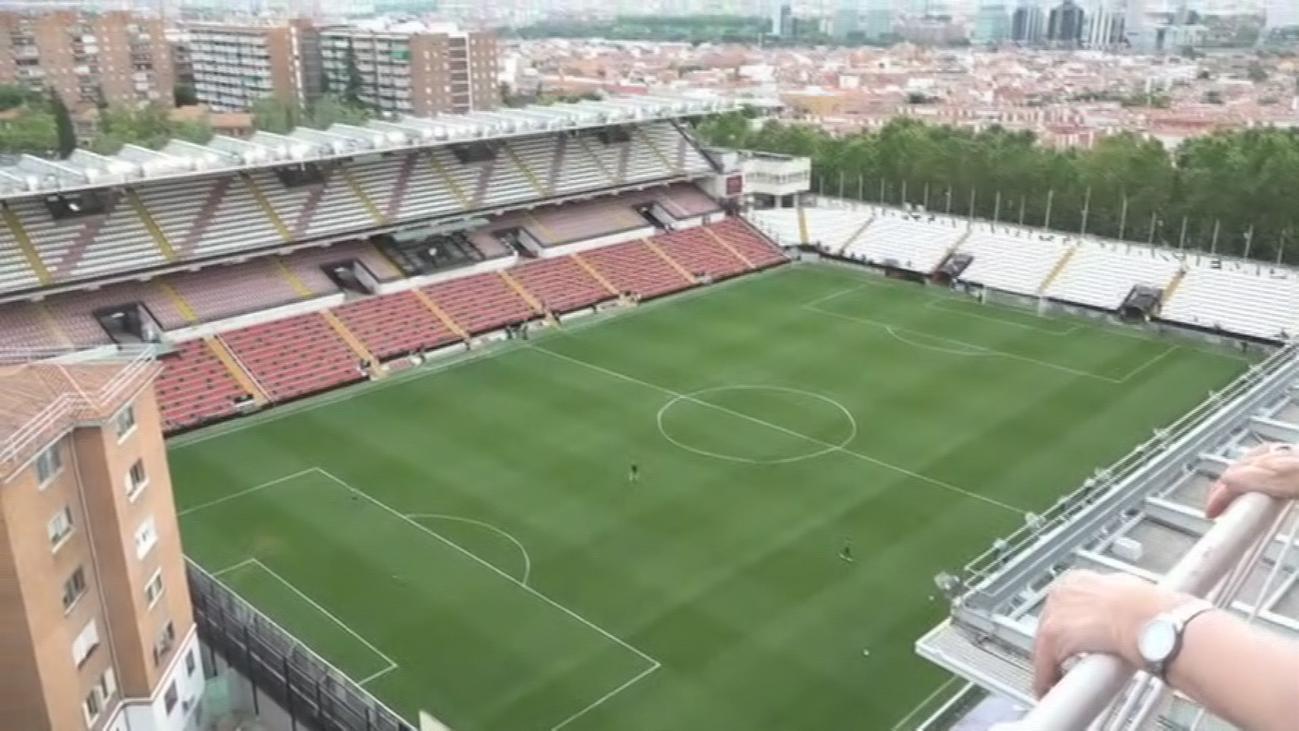 Balcón con vistas al estadio del Rayo Vallecano