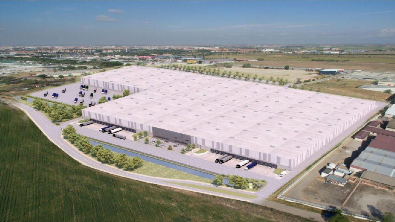 Nuevo centro logístico en Alcalá