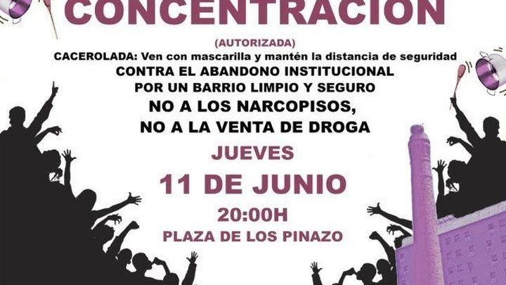 """Vecinos de San Cristóbal de los Ángeles: """"La droga y la delincuencia ha vuelto a nuestras calles"""