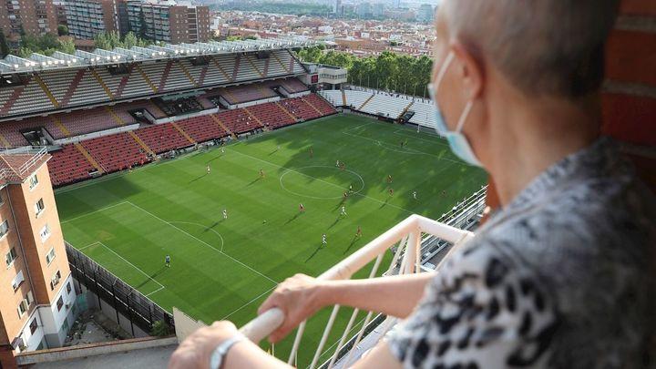 El Rayo-Albacete desde un balcón, todo un privilegio
