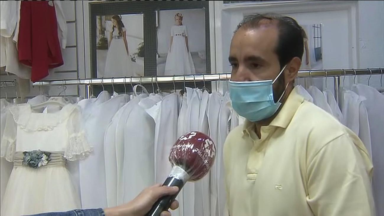Incertidumbre en las tiendas de trajes de comunión ante la duda de si se celebrarán las ceremonias
