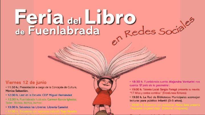 Fuenlabrada celebra su primera Feria del Libro... virtual