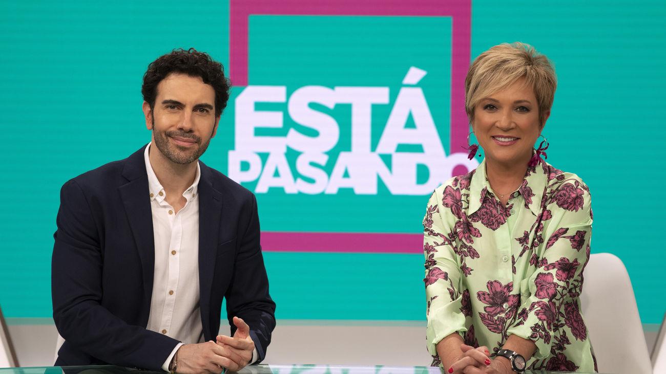 'Está pasando' regresa el lunes a Telemadrid con Inés Ballester y Alberto Herrera