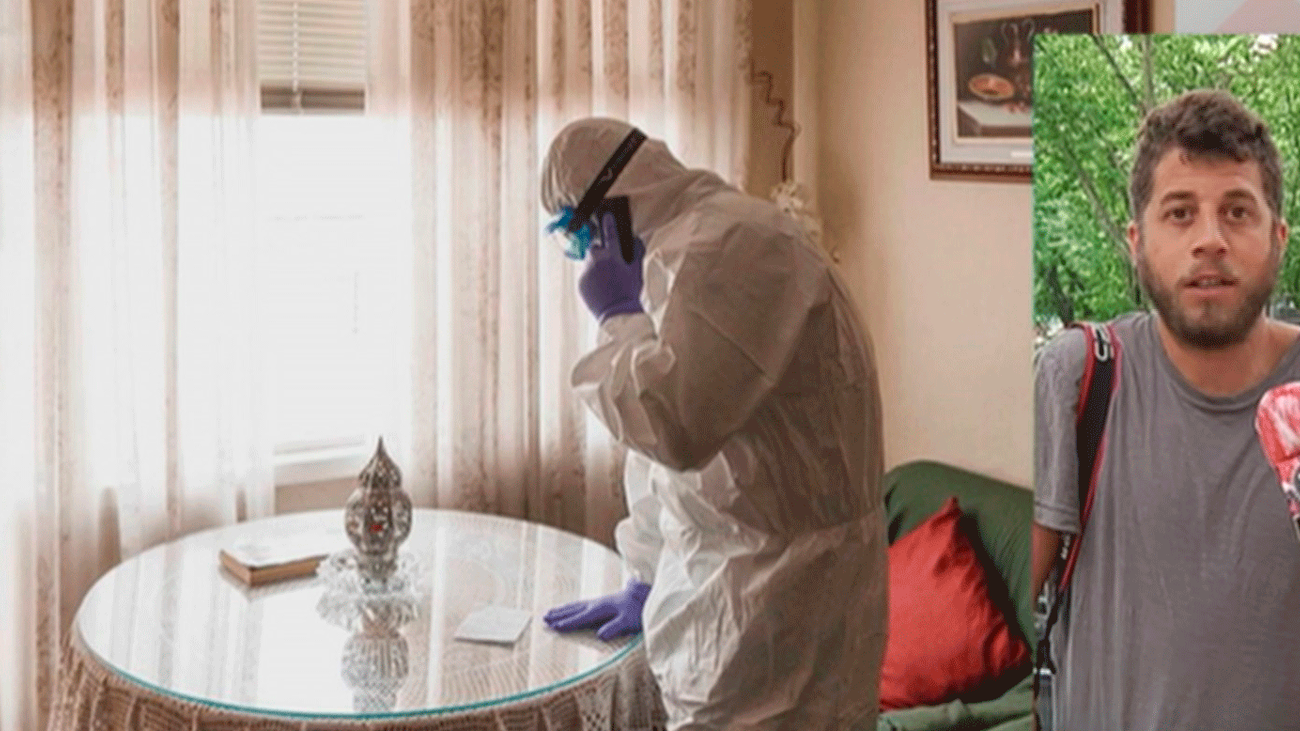 Pablo García, el fotógrafo deportivo que ha retratado el lado más humano de tres meses de pandemia