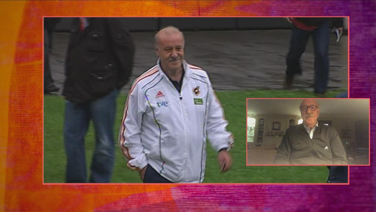 Del Bosque recuerda en Telemadrid el Mundial que ganó España hace ahora diez años