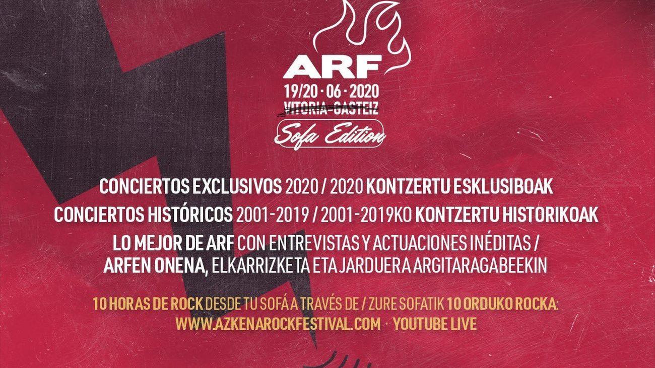 Azkena Rock Festival celebrará este año una ediciónonline de más de diez horas de rock