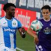 1-2. Paso atrás del Leganés ante el Valladolid