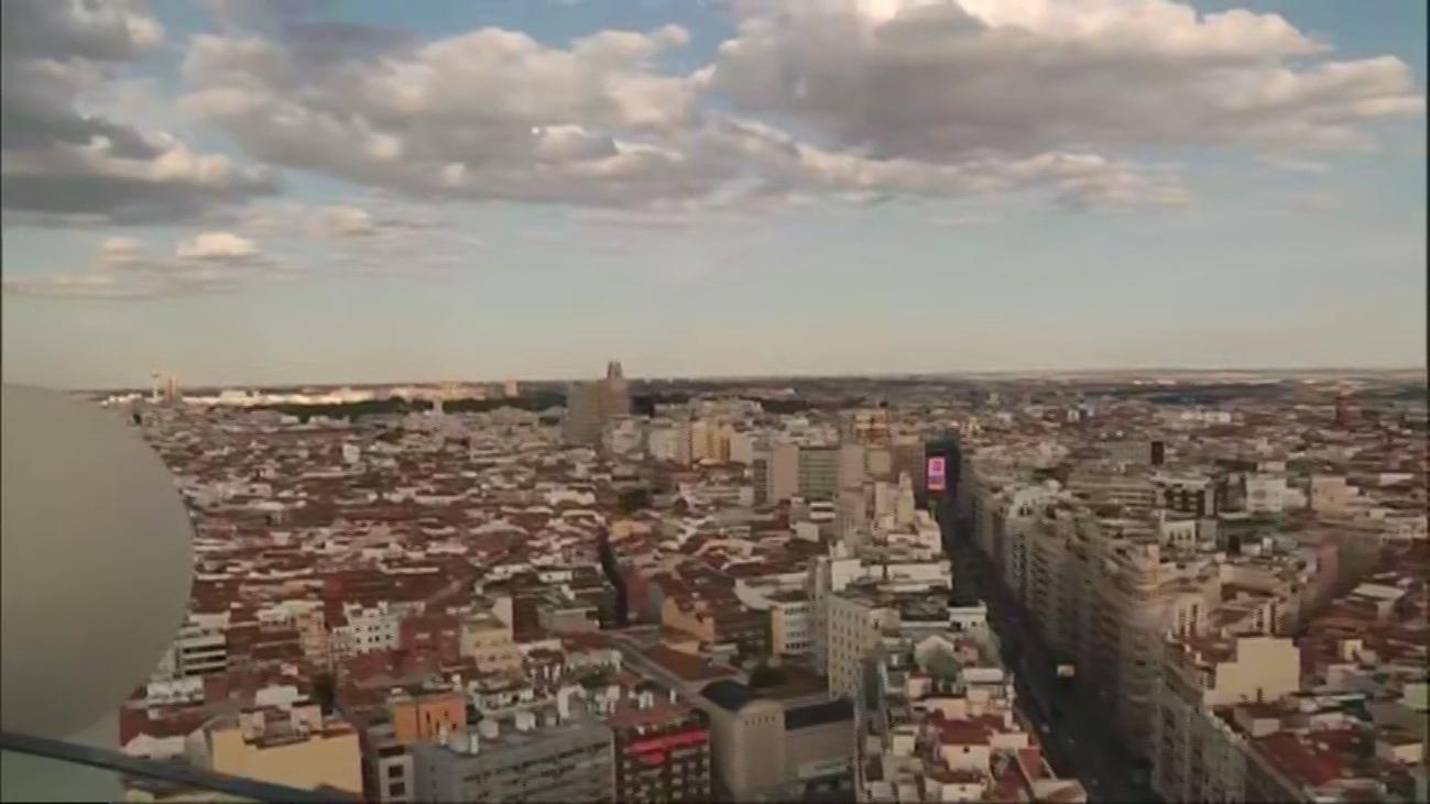 La 'pasarela acristalada' más famosa de Madrid, en Plaza de España