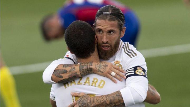 3-1. Al Real Madrid le basta media parte para deshacerse del Eibar