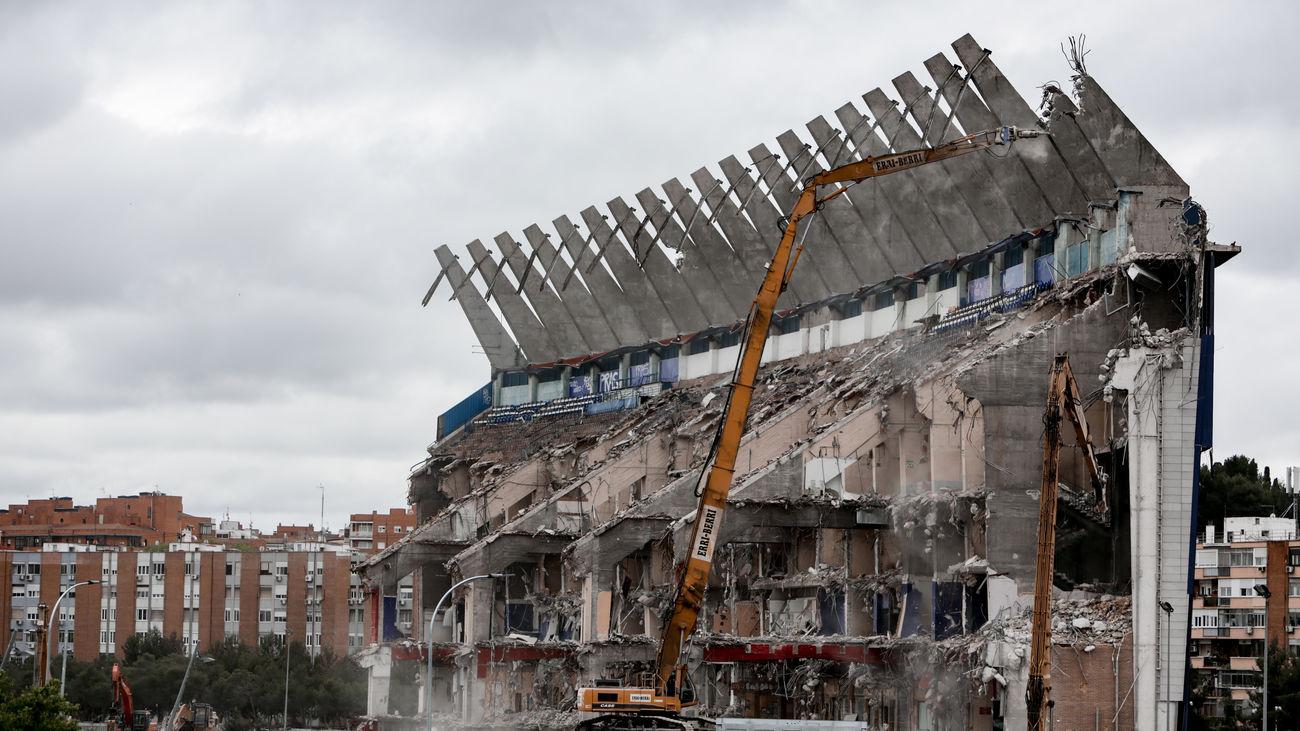 Arganzuela quiere llamar Parque Atlético de Madrid a la zona verde que habrá donde estaba el Vicente Calderón