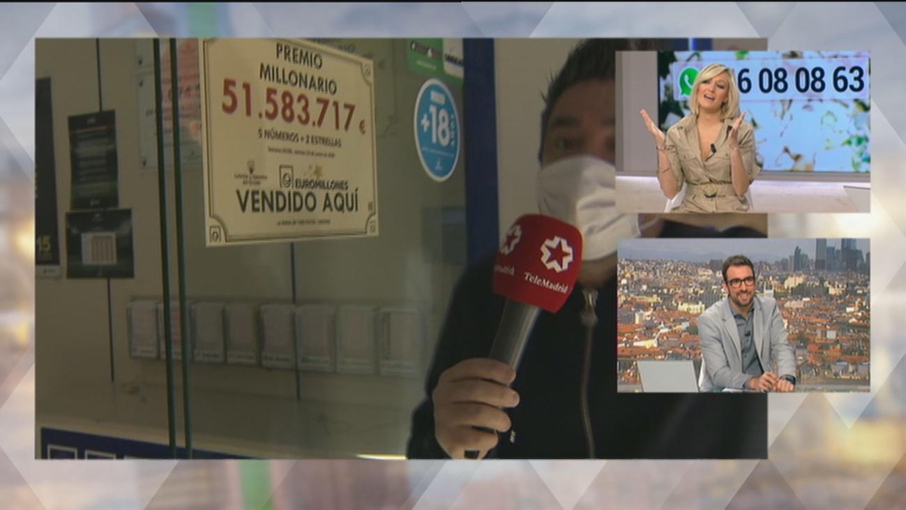 Aluche busca al afortunado que  ganó más 51 millones en el EuroMillón