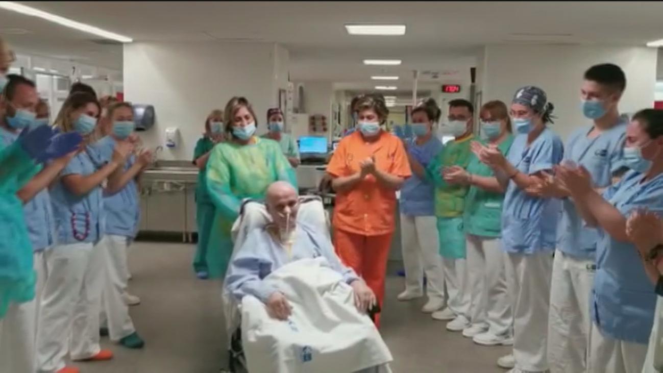 """La historia de Pepe, celador de hospital,  que ha estado 91 días en la UCI: """"Ha sido durísimo"""""""