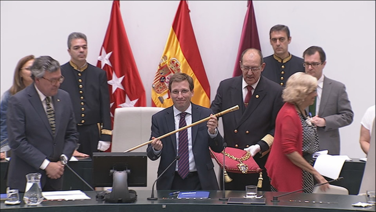 Martínez-Almeidacelebra su primer año como alcalde de Madrid