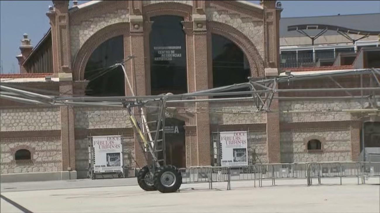Matadero de Madrid vuelve a abrir sus puertas con acceso al aire libre y alquiler de bicis