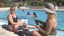 Primeros chapuzones en piscinas de Madrid, de momento en Sanse y Alcobendas