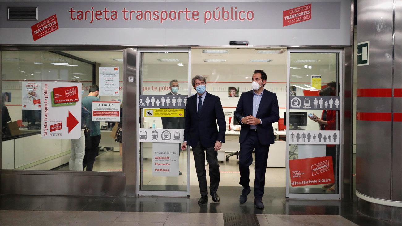La Comunidad de Madrid compensará los abonos de transporte no utilizados durante pandemia