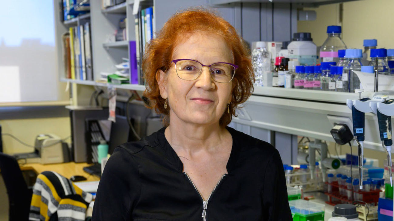 La viróloga Margarita del Val, investigadora del CSIC