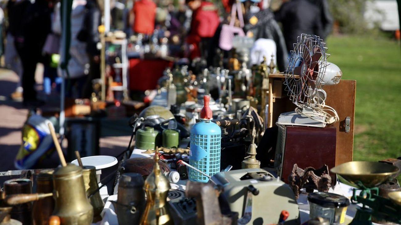 Mercado callejero a Las Rozas