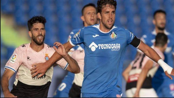 0-0. El Getafe, incapaz de ganar a un Espanyol con diez