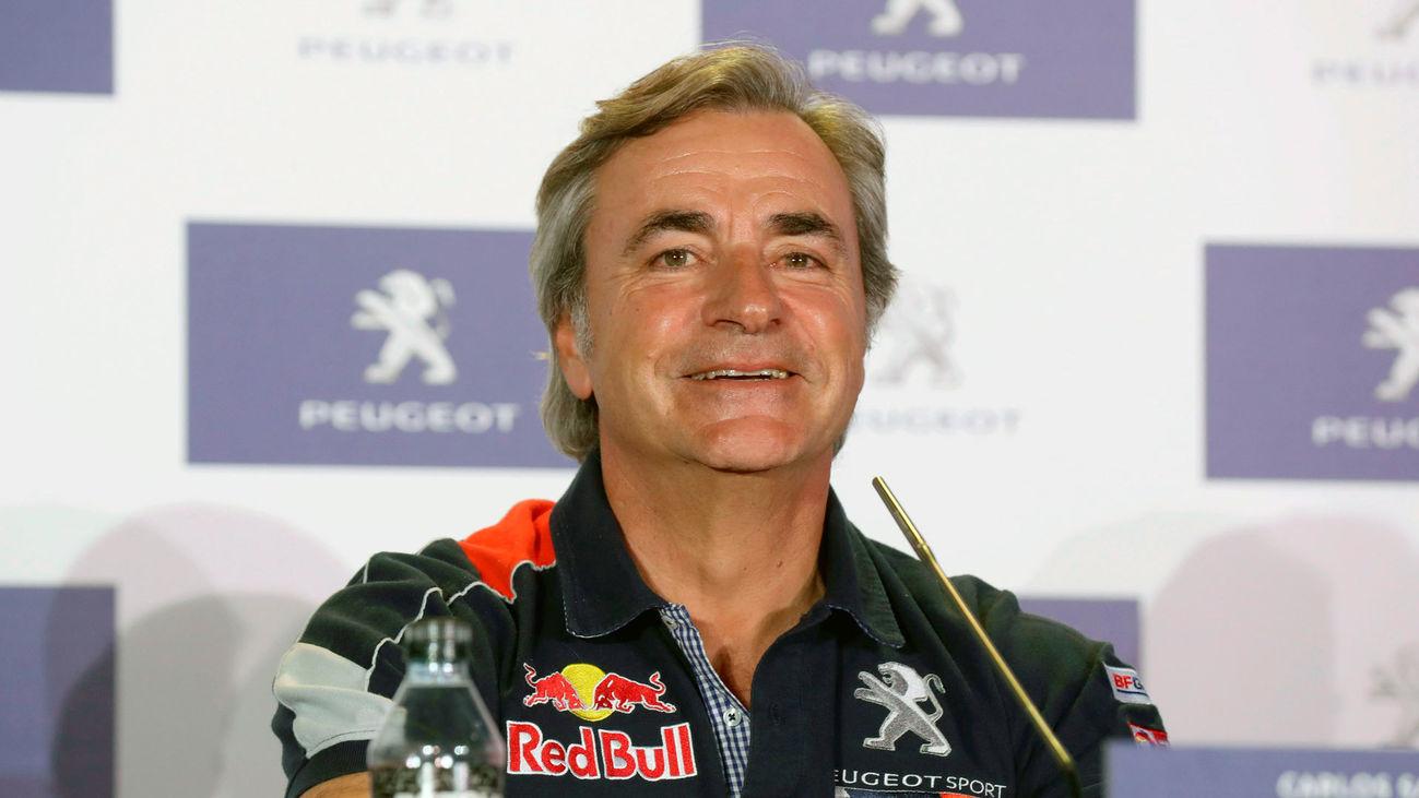 El piloto madrileño de rally, Carlos Sainz