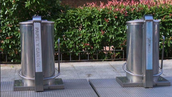 Sanse clausura temporalmente los contenedores de basura soterrados por seguridad