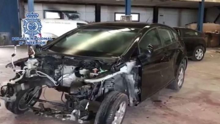 Cae en Talamanca del Jarama una banda especializada en robar coches para defraudar a aseguradoras