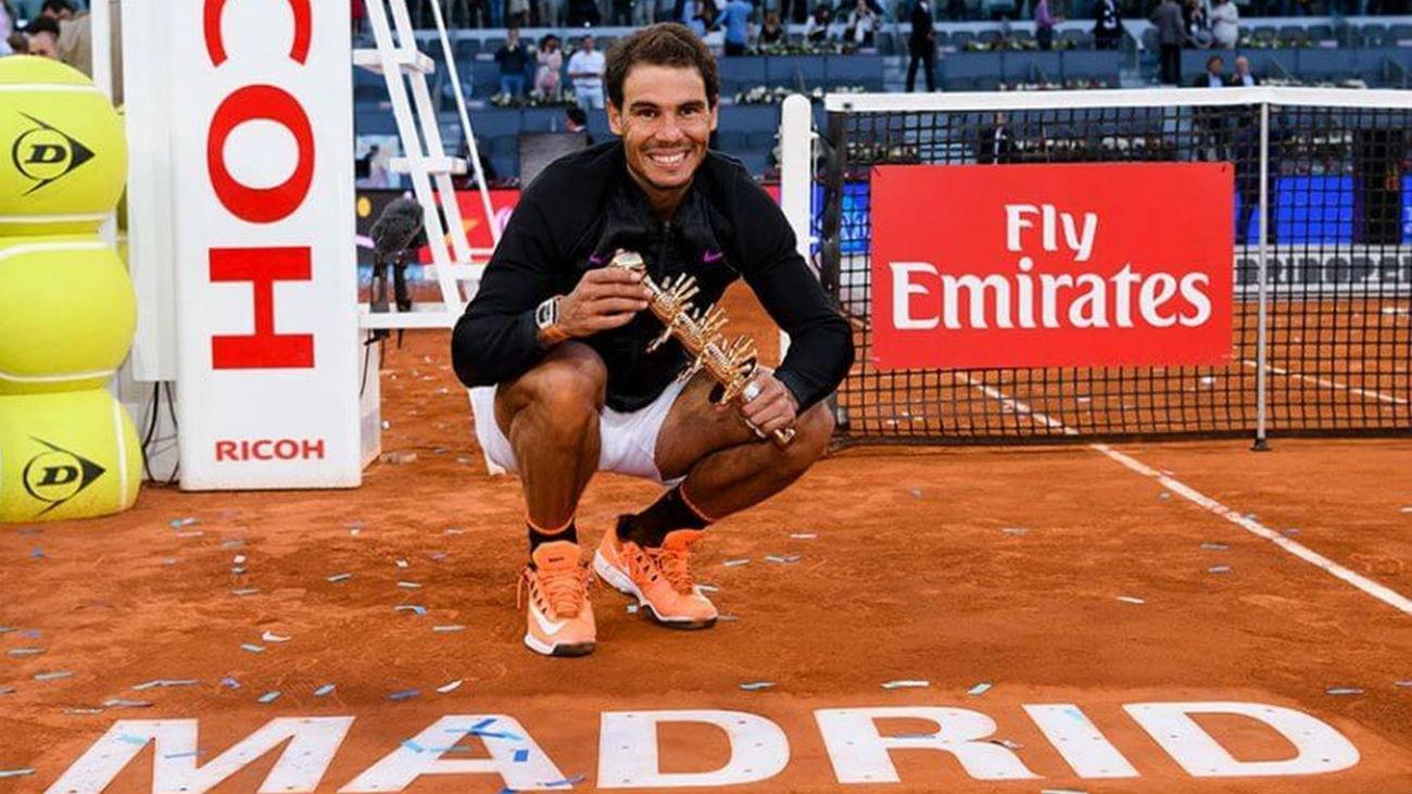 El tenis volverá a Madrid el 12 de septiembre con el Mutua Open