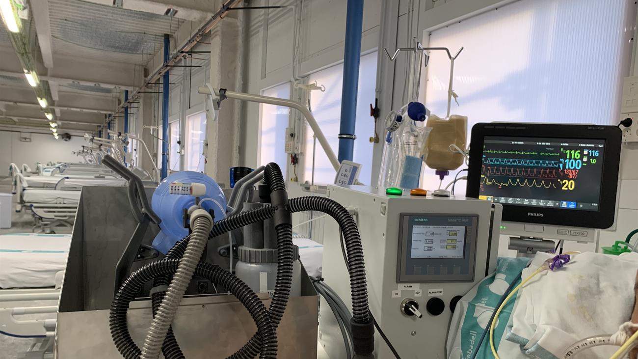 Para qué usaron los Cuidados Intermedios Respiratorios en pacientes con covid-19