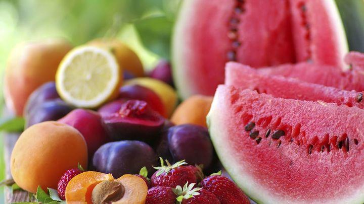 Las frutas de verano
