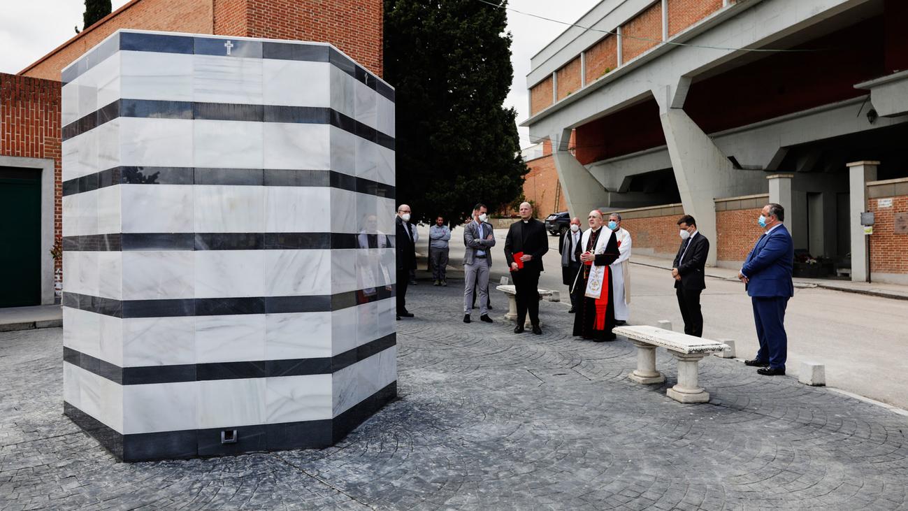 El túmulo del recuerdo en el cementerio de San Justo cobijará las cenizas de fallecidos sin recursos