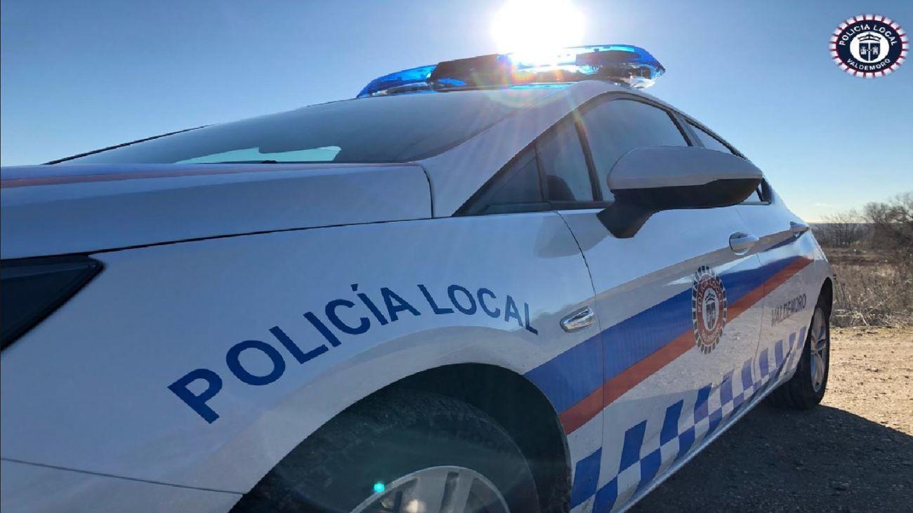Coche de la Policía Local de Valdemoro
