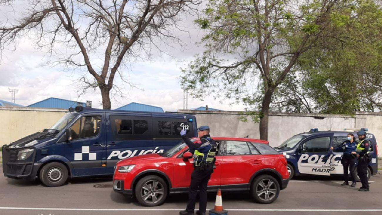 Control de las Policía Municipal