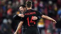 """Simeone: """"Veía a Llorente hacer goles, goles... Y hay que aprovecharlo"""""""