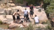 Pillados bañándose en La Pedriza pese a su prohibición