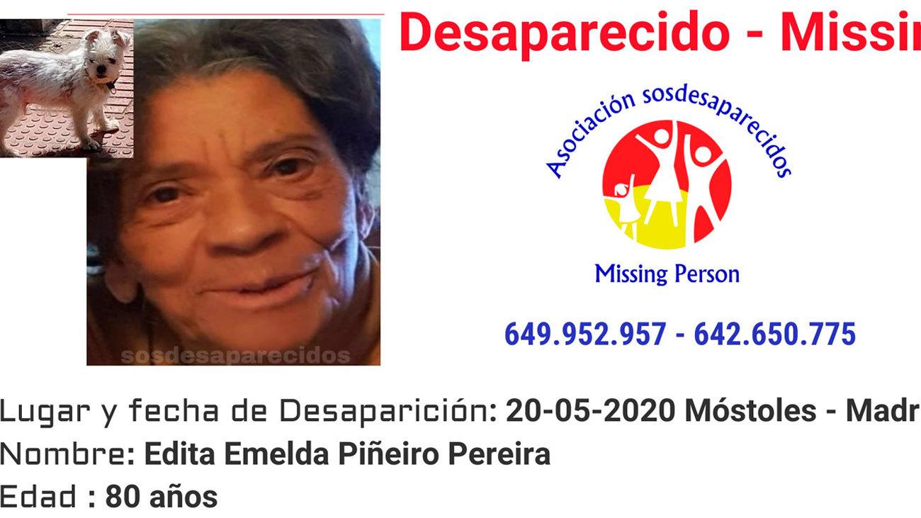 Amplían la búsqueda de una mujer de 80 años desaparecida hace un mes en Móstoles