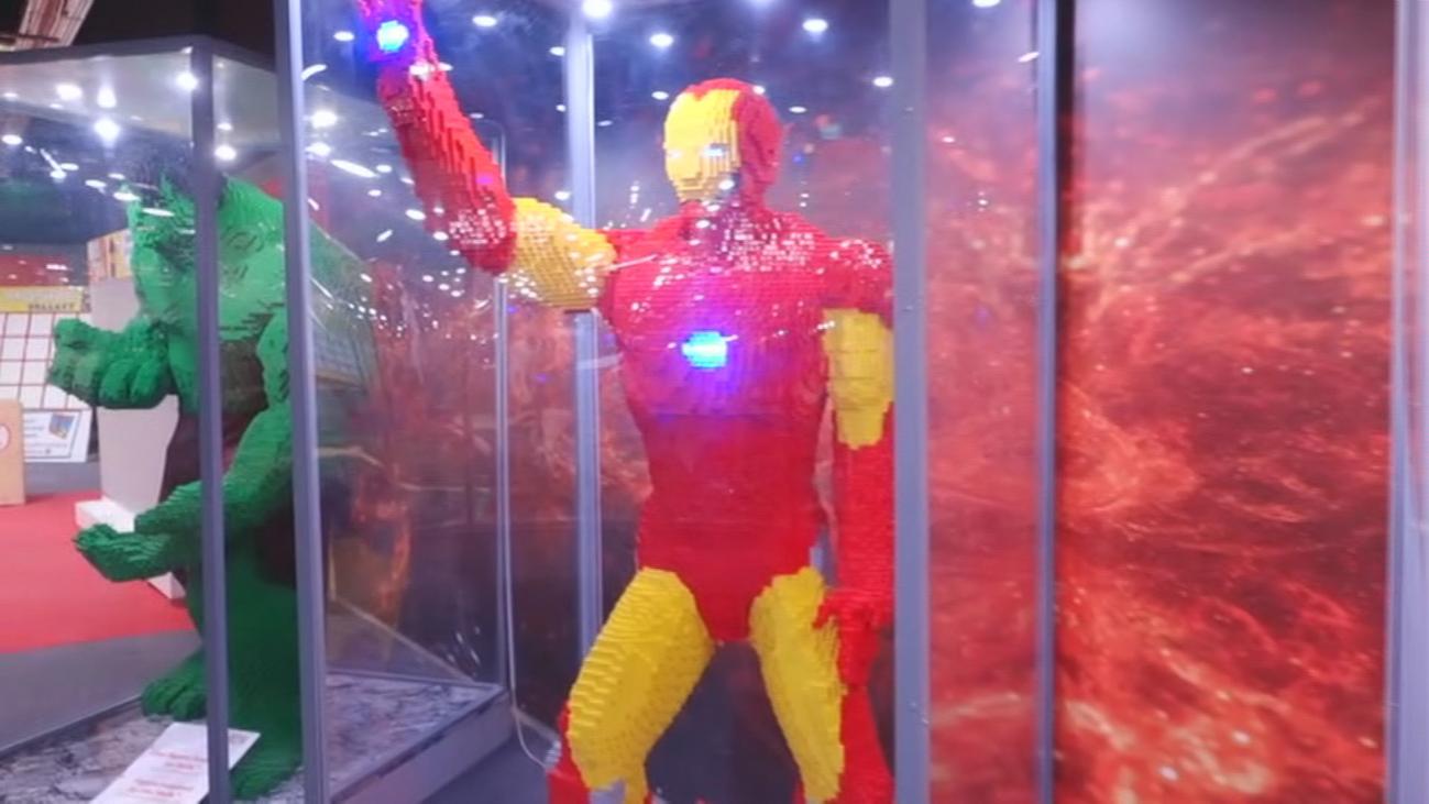 Reabre la mega exposición de legos gigantes, en Majadahonda