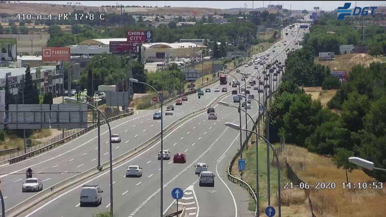 El fin de las restricciones de movilidad no afecta al tráfico en la Comunidad de Madrid