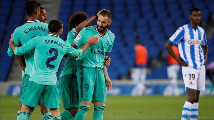0-2. Sergio Ramos y Benzema dan el liderato al Real Madrid
