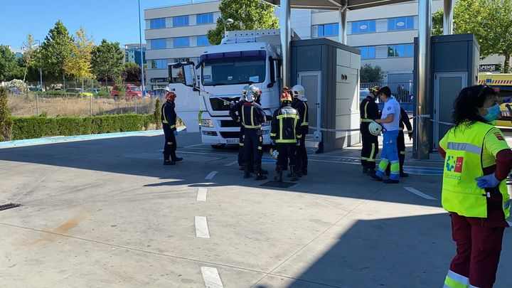 Muere un conductor aplastado por su camión en un centro de la ITV de Rivas