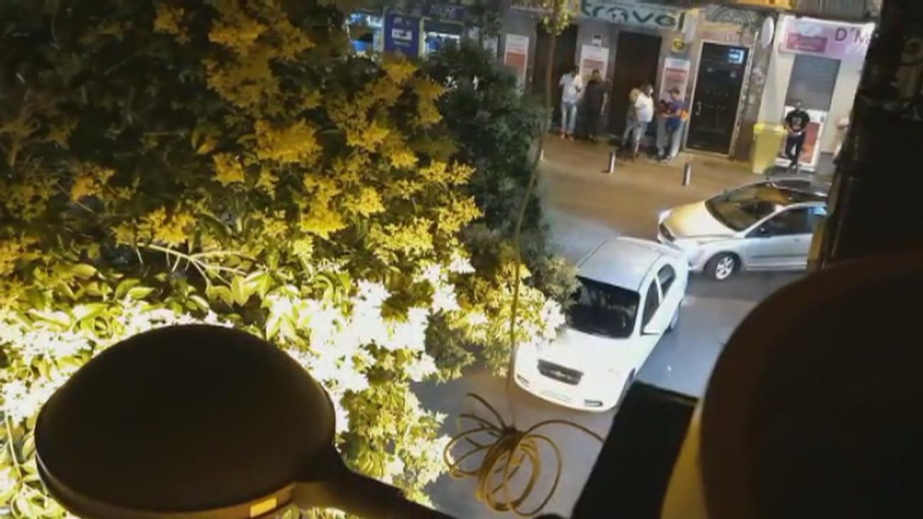 La fiesta sin control regresa a la problemática calle Topete tras el fin del estado de alarma