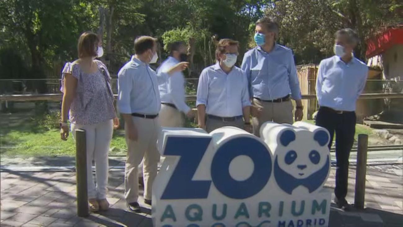 Abre el ocio en la Casa de Campo con el Zoo, Parque de Atracciones y Teleférico