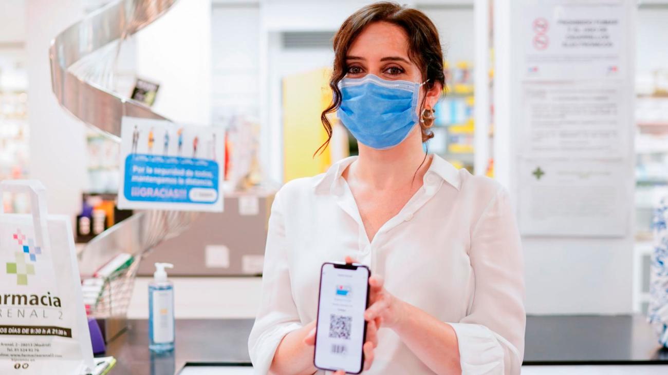 Los madrileños pueden usar desde este lunes la tarjeta sanitaria en el móvil